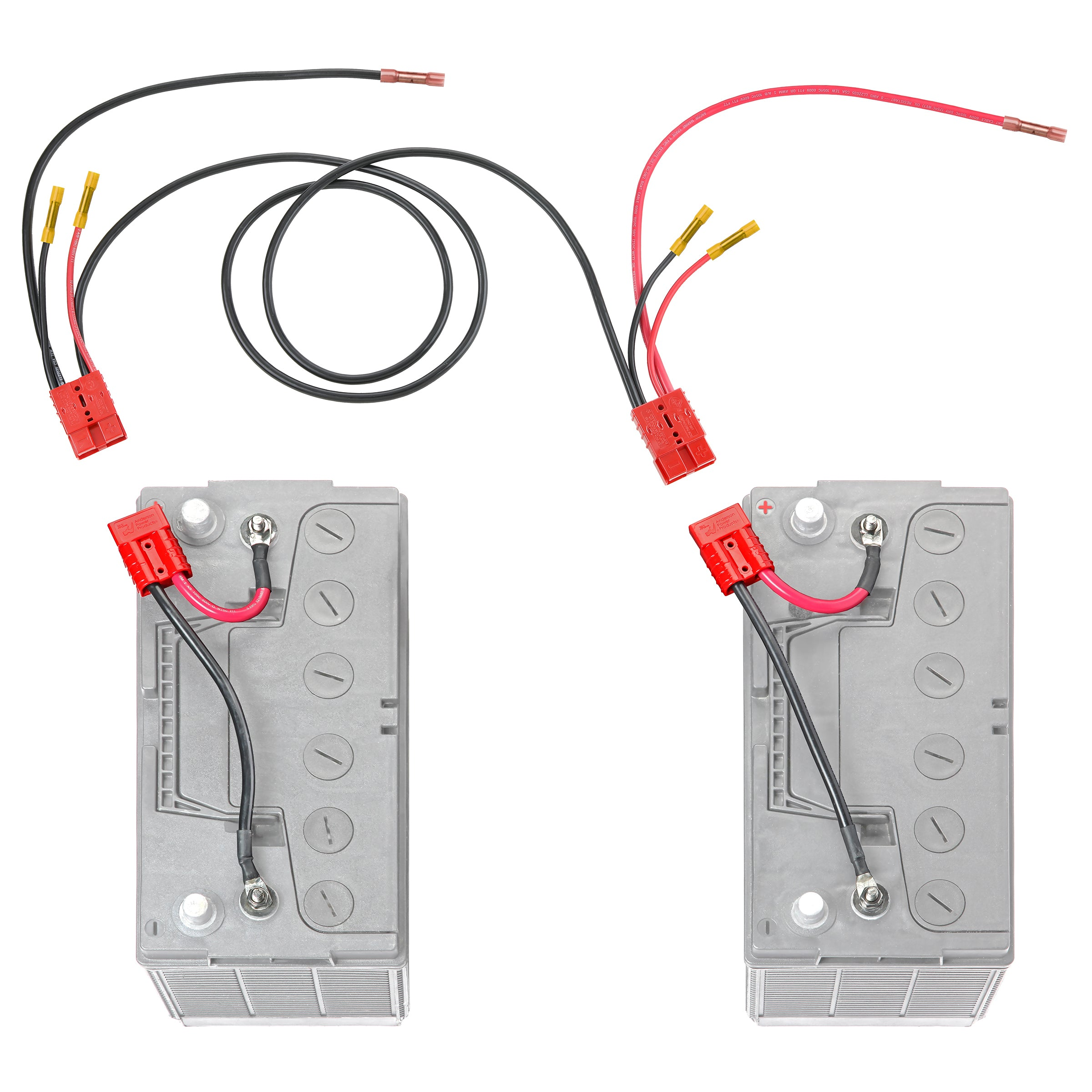 24 Volt Trolling Motor Connection 5 U0026 39  Extension For Separated Battery Compartments  Rce24vb5chk