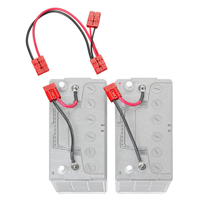 12 Volt Parallel Battery Connection Kit (RCE12VBPK) - Connect-Ease. Connect all your marine equipment with ease.