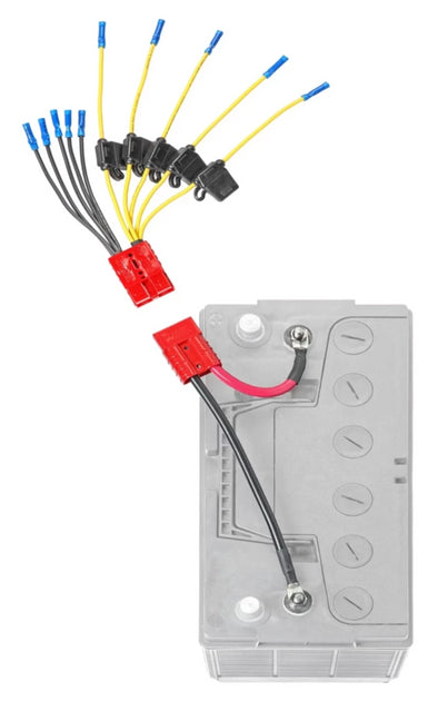 Multi Accessory (5) Fused Connection Kit (CE12VB5FK)* - Connect-Ease. Connect all your marine equipment with ease.