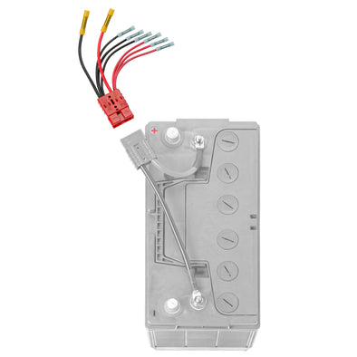 Multi Four (4) Connector (RCE12VB4) - Connect-Ease. Connect all your marine equipment with ease.