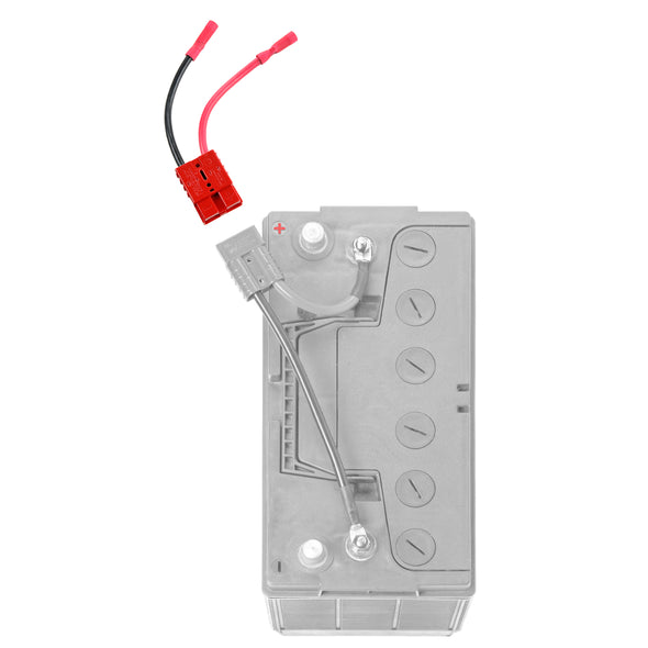12 Volt Single 8-Gauge Trolling Motor Connector - (RCE12VB8) - 8 gauge quick connect - Connect-Ease. Connect all your marine equipment with ease.