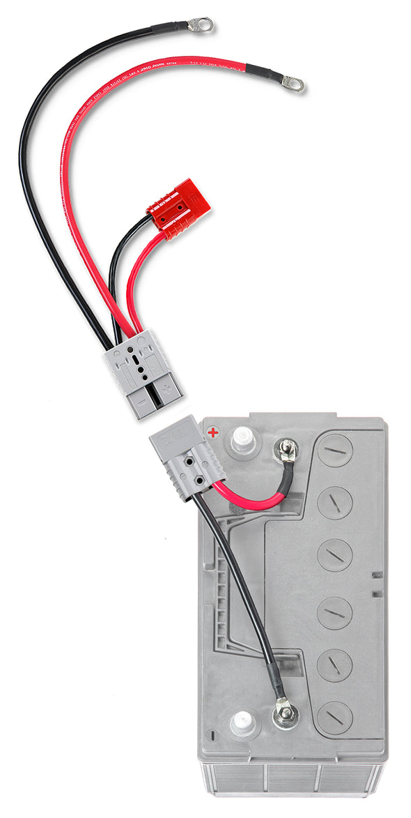 Outboard Motor Connection with Auxiliary Connector (RCE12VBM6K) - Connect-Ease. Connect all your marine equipment with ease.