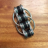 QuadRoller Chain Link Fidget | Stress Toy