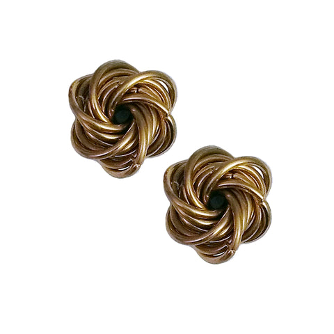 Chainmail - Mini Brass Vortex Fidget Set