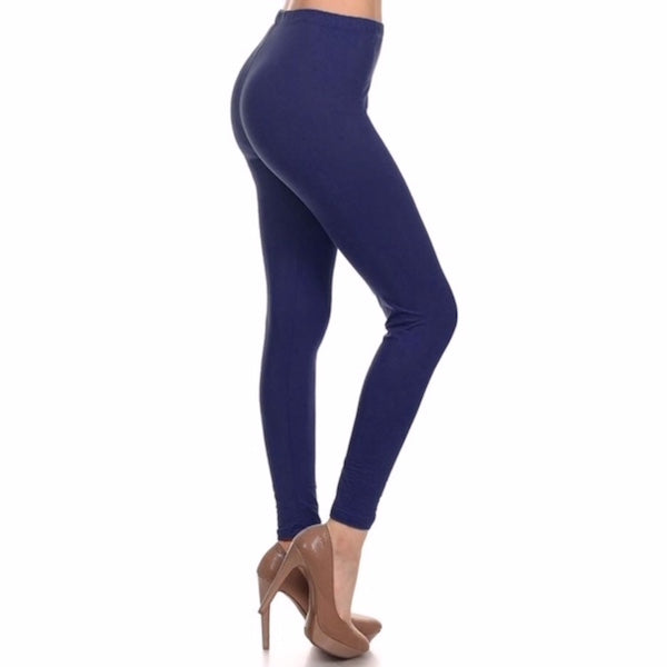 Basic Leggings in Navy Plus