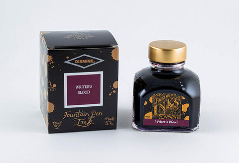 Diamine Fountain Pen Ink 80ml - Writer's Blood
