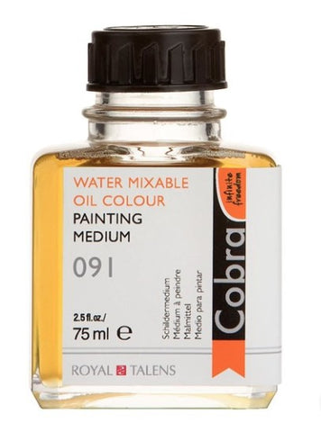 Cobra Artists Water Mixable Oil Painting Medium 75ml