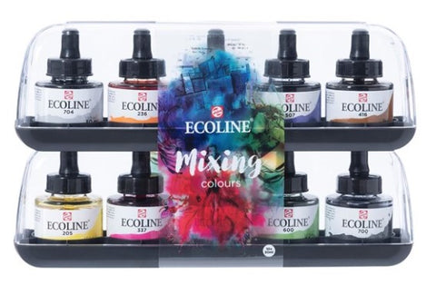 EcoLine Mixing Set Liquid Watercolour - 10 Bottles - 30ml