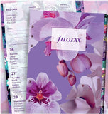Filofax Floral Illustrated Diary Refill Pack 2021 - Personal Size