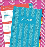 Filofax Stripes Illustrated Diary Refill Pack 2021 - Pocket Size