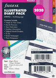 Filofax - Illustrated Pocket Diary Refills 2020