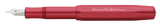 Kaweco - AL Sport Fountain Pen Fine Nib - Deep Red