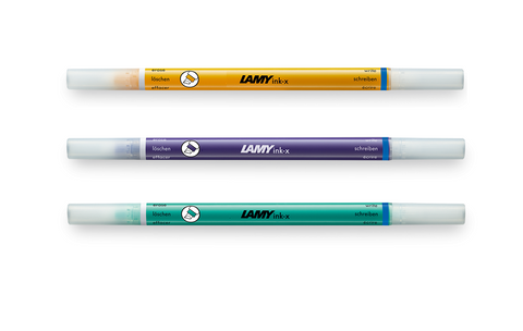 Lamy - Ink-x Eradicator Multisystem Pen - 2020 Limited Edition Candy - Pack of 3