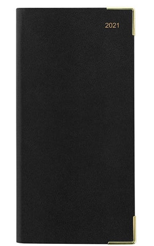 Letts Classic Slim Month to View Diary English - Black