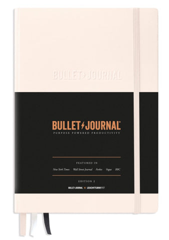LEUCHTTURM1917 x Official Bullet Journal - Edition 2 - Medium A5 - Dotted Pages