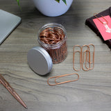 Creoly Rose Gold Giant PaperClips x50