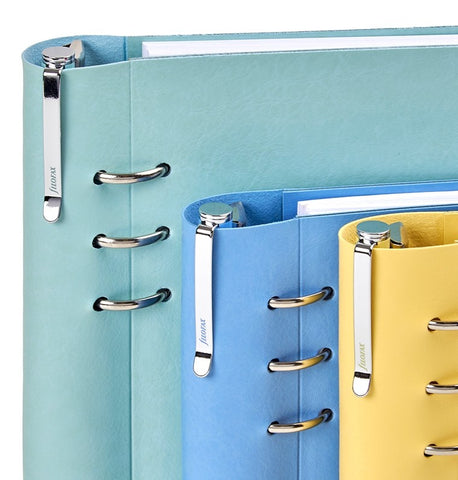 Filofax Personal sized Clip Notebook with Erasable Ballpoint Pen