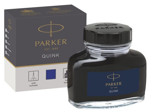 Parker Bottled Quink Ink - 57ml - Blue