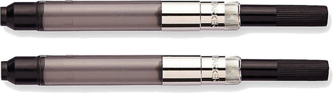 Parker - Deluxe Piston Ink Converter for Fountain Pen - 7.3cm - Pack of 2