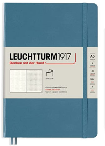 Leuchtturm 1917 Softcover Dotted Notebook, A5 - Rising Colours Collection