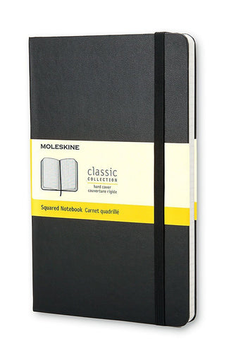 Moleskine Squared Black Notebook (Large)
