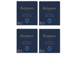 Waterman - Short Size International Cartridges - 4 x Box of 6