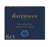 Waterman - Short Size International Cartridges - Box of 6