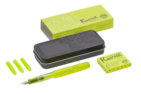 New Kaweco Ice Sport Glow Marker | Yellow