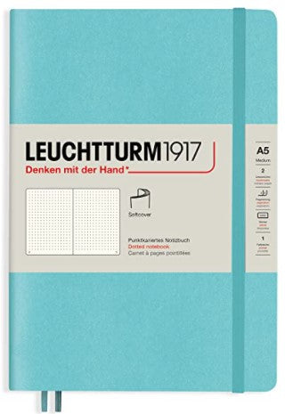 Leuchtturm 1917 A5 Dotted Medium A5 Hardcover - Rising Colours