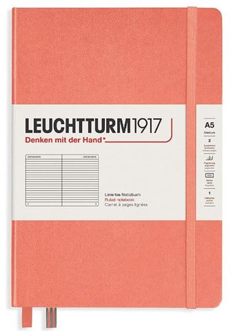 Leuchtturm 1917 Ruled Hardcover A5 Notebook - Muted Collection