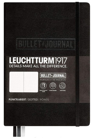 Leuchtturm1917 Medium A5 Notebook- Bullet Journal Special Edition