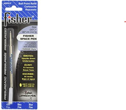 Fisher Space Pen Refill, Fine Point - Blue Ink