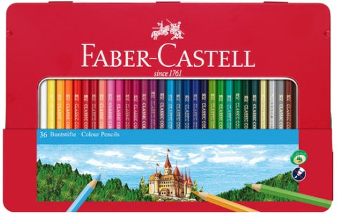 Faber Castell Colour Pencil Set of 36