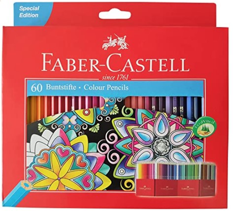 Faber-Castell Colour Pencils - Set of 60