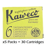 Kaweco Fountain Pen Ink Cartridges- 30 Pack