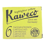 Kaweco Fountain Pen Ink Cartridges- 6 Pack