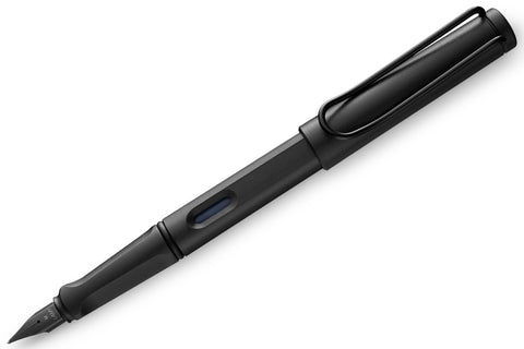 Lamy Safari Fountain Pen 044 All Black, Medium Nib | Limited Edition 2018