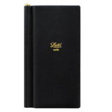 Letts Legacy Slim Pocket Notebook, Ruled, with Bespoke Gold Pen