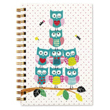 Go Stationery Twooly Fabulous A5 Notebook | Owl Pyramid