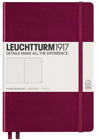 Leuchtturm 1917 Dotted Hardcover Notebook - Medium A5