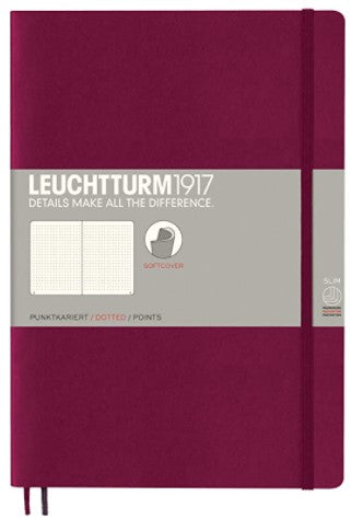 Leuchtturm 1917 Softcover Dotted Notebook - B5