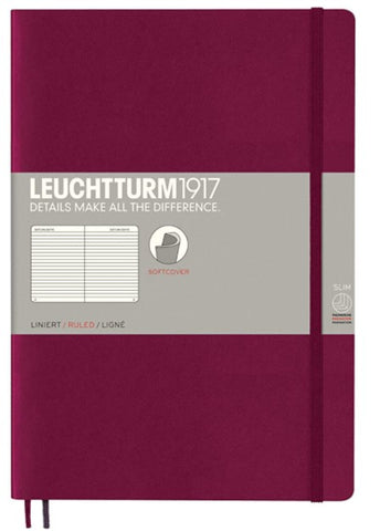 Leuchtturm 1917 Softcover Ruled Notebook - B5