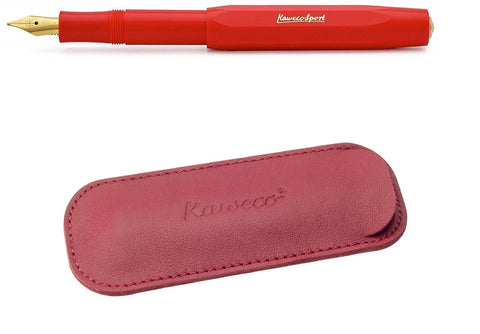 New Kaweco 2 Pen Pouch and Skyline Fountain Pen Set
