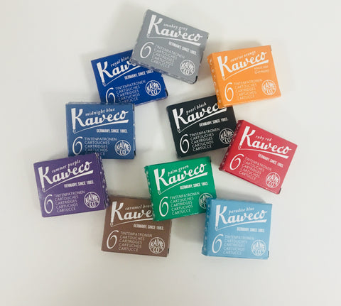 Kaweco Single Mixed Colour Ink Cartridges | 10 Pack