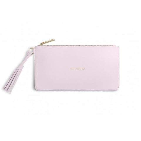 Katie Loxton Florrie Tassel Pouch, 'Pretty Perfect' Pink