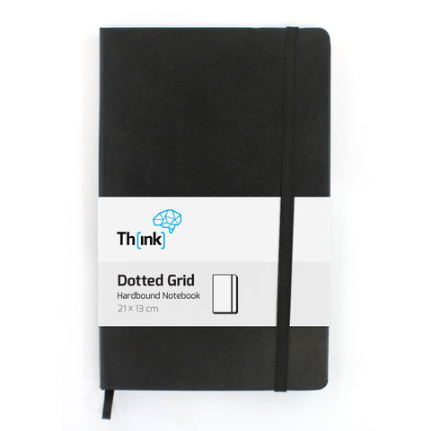 Dotted Hardbound A5 Notebook | by Think