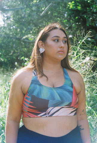 Dolkii x Lehua Lole Sports Bra | Meet Zabrina Zablan of The Gay Agenda Collective!