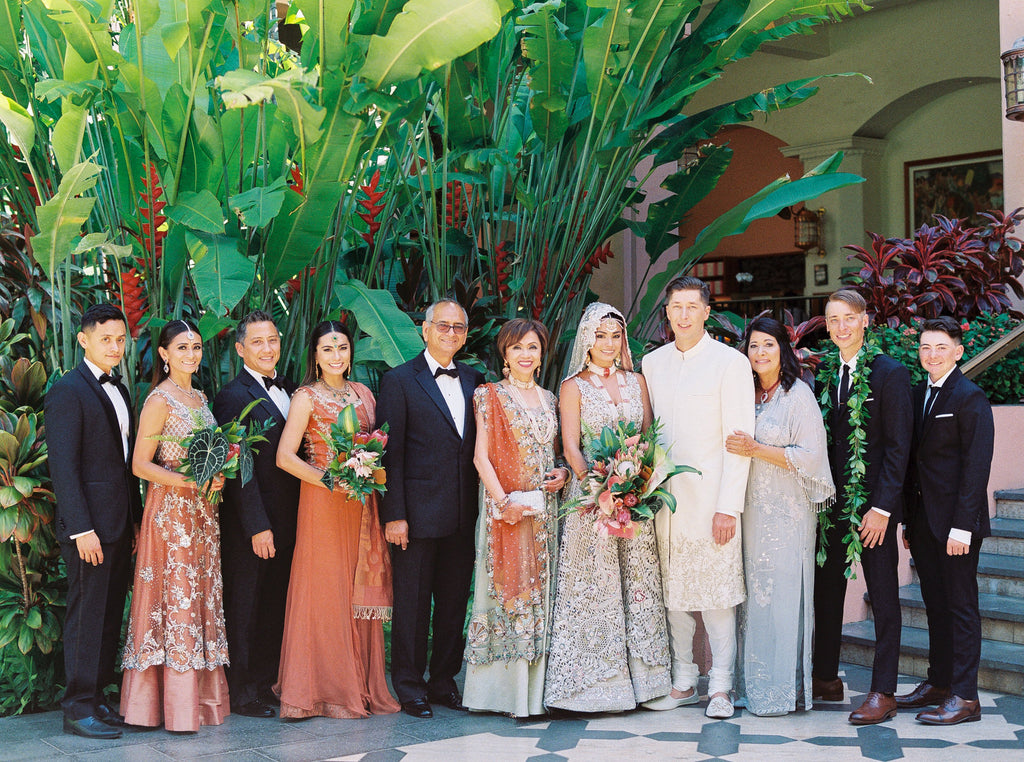 Shaiyanne and JP - Modern Pakistani Bride - Wedding Celebration in Hawai'i