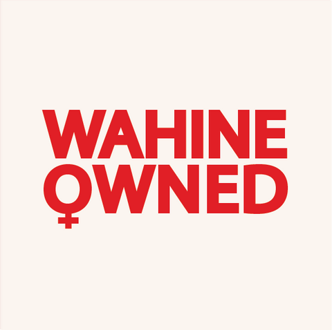 Wahine Owned Small Business Badge. Designed by Shaiyanne Dar of Dolkii Hawai'i.