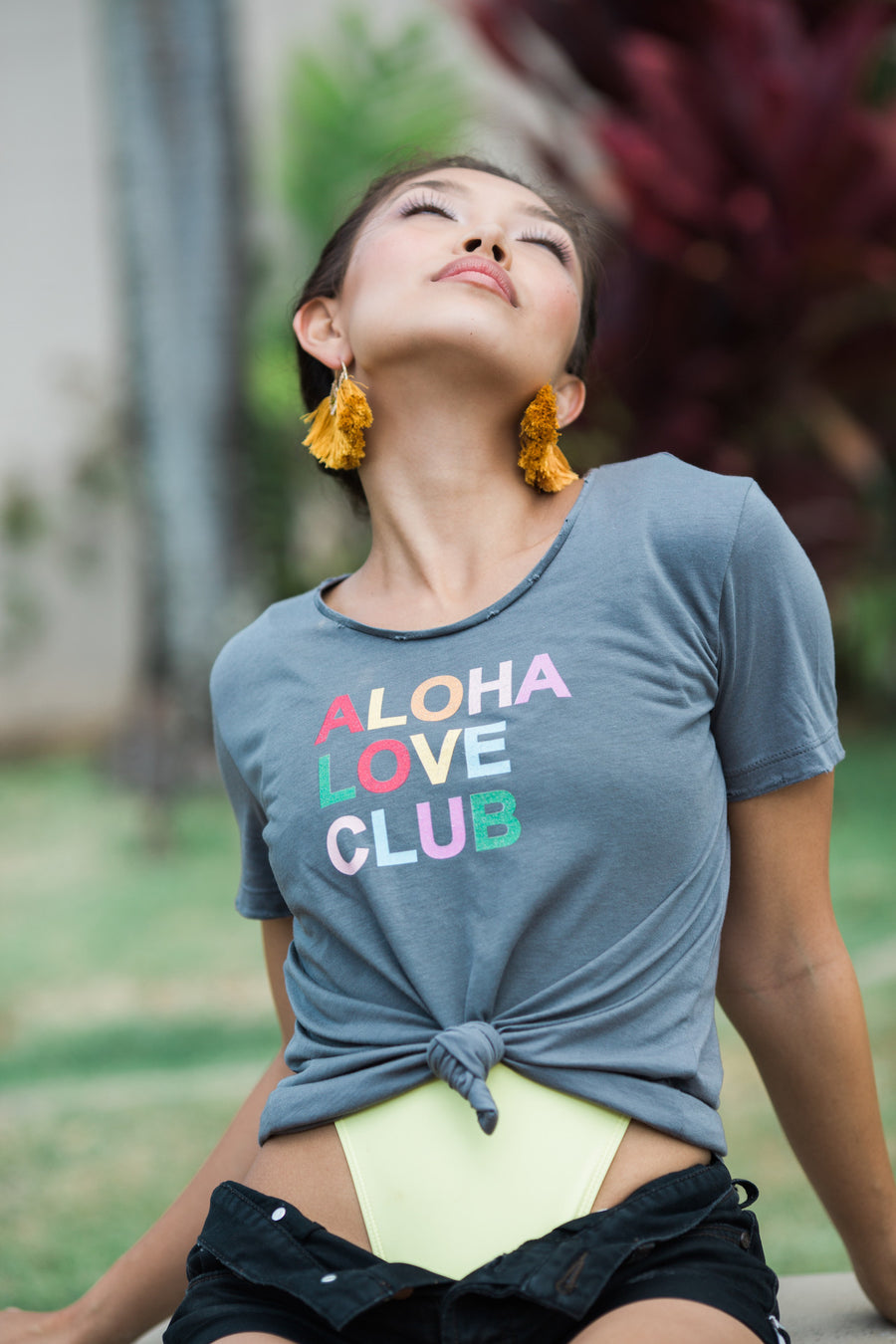 TEE ALOHA LOVE CLUB - SHARK